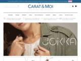 Alliances et Bagues de Fiancailles Diamant chez Carat et Moi, la joaillerie en ligne