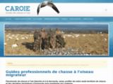 Caroie, guides de chasse à l'oie blanche
