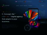 C.Concept création de sites internet, logos et dépliants Belgique, France, Luxembourg