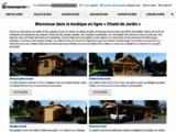 Spécialiste abris et chalets de Jardin en bois - Chaletdejardin.fr