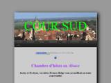 chambre d'hotes Cour Sud, à 15mn au  sud de Colmar, sur la route des vins d'Alsace à Rouffach