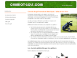 Chariot de golf, achat en ligne