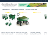 Tous les chariots de jardin sur Chariotdejardin.com