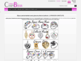 Créateur de bijou personnalisé avec la gravure photo et pierre de naissance