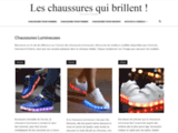 Chaussure lumineuse à LED & basket lumineuse