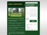 Parcs et jardin Christophe Dehut, entretien et créations de jardins.