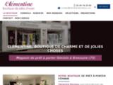Clémentine Boutique - LA BOUTIQUE