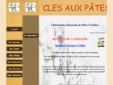 CLES AUX PATES - Fabrication Artisanale de Pâtes Fraiches -  Colomiers, Pibrac, Léguevin, Haute-Garonne.