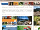 Location pour un week end dans le Puy de Dôme : location de vacances en Auvergne Clévacances