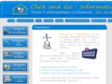 Click and Go ! Informatique Paris, Formation informatique et Dépannage  rapide à domicile,service à la personne