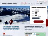 Chalet résidence Club Alpina - Champagny en Vanoise, La Plagne Les Arcs Savoie Alpes