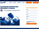 Sauvegarde en ligne externalisée - CLURK Backup