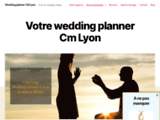 CM Lyon, votre wedding planner Lyon