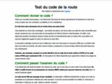 Guide sur les sites dédiés à la révision des codes de la route