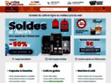 Coffee-Webstore: Vente de café, dosettes, capsules en ligne pour entreprise