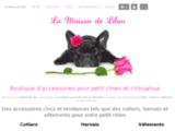 Collier et harnais pour petit chien : La Maison de Lilou