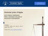 Commissaire de justice à Agde dans l'Hérault