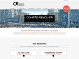 COMPTE-RENDU.fr, Spécialistes de rédaction de comptes rendus à Paris