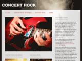 Concert-rock.fr: la musique rock dans tous ses états