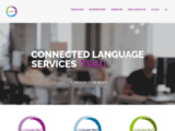 connected-services - Accueil - Connected Language Services - Traduction - Localisation - Interprétation