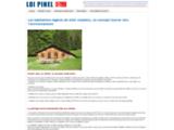 Menuisier, construction de maisons bois, Courpignac 17