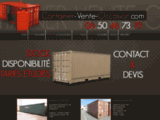 Vente container d'occasion vaucluse, container 10 pieds,containers d'occasions 84