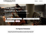 CorporateStays - Furnished Apartments rentals & Corporate Housing