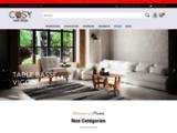 Cosy Home Design - Meubles design et objets de décoration