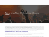 Couleur Sonore - Sono, Eclairages, Vidéos & Production exécutive
