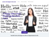 Service de cours de langues à Nice