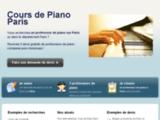 Cours de Piano Paris : les professeurs de piano dans le 75