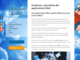 Creation Oueb : Creation de site internet près de Chateaubriant