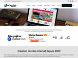 Creation site internet mf vitrine, site e-commerce, flash, référencement internet, optimisation