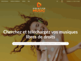 Musiques libres de droit - Creativemusicshop.com