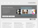 CreativeSite.fr - Creation de site internet sur mesure avec CMS Open Source