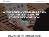 création site internet, création site web, webdesigner caen, webmaster caen,