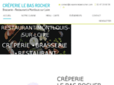 Crêperie-Restaurant-Brasserie en Indre-et-Loire (37) | Le Bas Rocher