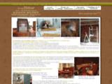 GAINAGE CUIR : Thibout Gainier - Gainage cuir d'ameublement, restauration des cuirs de meubles anciens