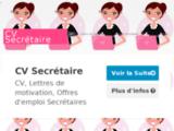 CV Secrétaire | Lettre Motivation Secrétaire | Devenir Secrétaire | Formation Secrétaire | Emploi Secrétaire