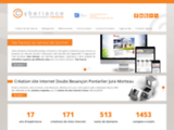 Création site internet Besançon Pontarlier Doubs Agence web Jura