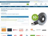 Comparateur de prix pour pièces autos [DE]