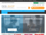 Location, achat et maintenance de photocopieur sur Paris - DEB Shop