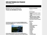 Trouver une déchetterie en France