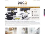 Déco & saveurs : vente d'ustensiles de cuisine d'objets des arts de la table et de décoration