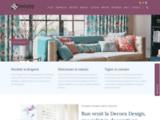 Bienvenue chez Decora Design, experts en textiles d'intérieur : rideaux, stores et panneaux japonais à des prix très attractifs