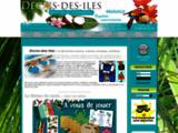 Décoration d'intérieur sur les iles et la mer - Vente d'articles de décoration exotique et marine