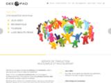DEE-PAD - Localisation et traduction de jeux vidéo, de sites web, d'outils commerciaux