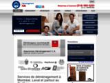 Déménagement Montréal, Laval -CA Déménagement