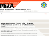 Mira Déménagement national international pour particuliers et professionnels emballage cartons Cannes  Mandelieu la Napoule le cannet vallauris 06