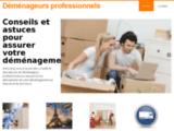 Déménageurs professionnels - Des déménageurs professionnels à Paris
